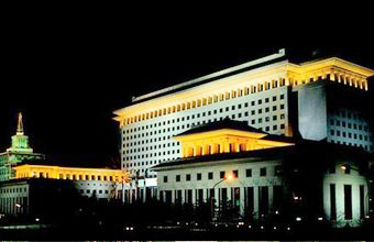 The central military commission building
